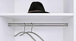 garderobenstange f r nische gel nder f r au en. Black Bedroom Furniture Sets. Home Design Ideas